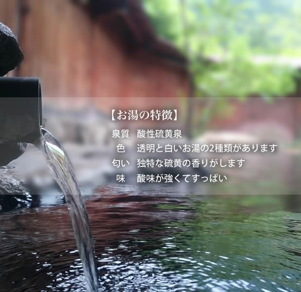 雲仙の泉質・効能