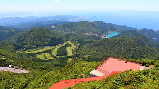 仁田峠からの眺望