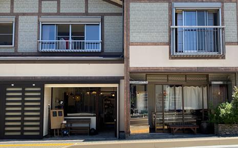 松尾カメラ時計展 喫茶室